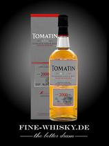 Tomatin 14yo Vintage 2000 Single Bourbon Cask #3123