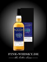 Blair Athol 31yo Vintage 1989 refill Bourbon Hogshead #6106 - Spheric Spirts