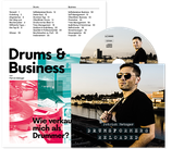 Drums & Business Broschüre + Drumsformers Reloaded CD
