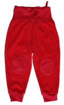 Pantalon rouge Leela Cotton