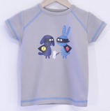 """T-shirt oiseau masqué """"LQDC"""""""