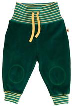 Pantalon jaune et vert Leela Cotton