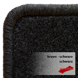 Passformsatz VW T5/ T6 - Bravo schwarz /