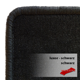 Passformsatz Fiat Ducato (Typ 280/290) - Luxor schwarz/