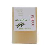 Jabón de arcillas con aceite de oliva virgen extra