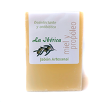 Jabón de miel y propóleo con aceite de oliva virgen extra
