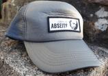 Caps mit gewebtem Logo Vorderseite