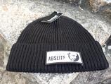 Mütze mit gewebtem Logo Vorderseite