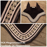 "Nr. 14: Fliegenmütze Modell ""Classic Dressage"" schwarz"