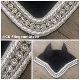 "Nr. 17: Fliegenmütze Modell ""Classic Dressage"" schwarz"