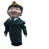 Кукла Бар Военнослужащая