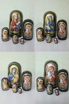 """Матрешка 5 мест  """"Православная"""" малая"""