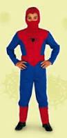SPIDER HERO  8/10 anni (140 cm) - 1550-59