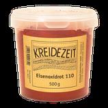 Kreidezeit Eisenoxidrot 110