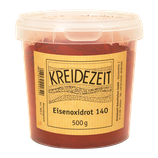 Kreidezeit Eisenoxidrot 140