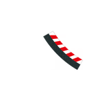 Innenrandstreifen für Kurve 3/30° - 1 Stück