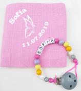 Noschi & Nugikette Schmetterling rosa