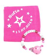 Noschi & Nuggikette Stern pink