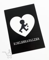 """Postkarte """"Kohlenkavalier"""""""