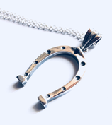 HORSESHOE IN SOLID SILVER 925