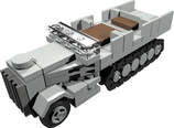 Mini scale Sd.Kfz 9