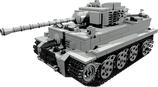 Tiger Panzer Bauanleitung Building Instructions