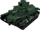 Japanese typ 95 heavy tank green version