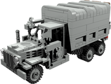 GMC truck Vietnam version with mg turret and closed compartment