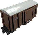 Cargo train car closed Geschlossener Güterwagen 9V