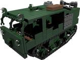 US Army M4 gun tractor green grüne version