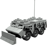 Véhicule de l'avant blindé (VAB) APC infantry carrier with clearing shield