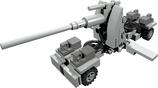 Mini scale Flak 8,8cm