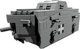 A7V WW1 German tank