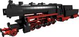 BR 52 steam engine black version