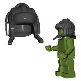 Red army tank crew helmet black Panzerbesatzung Helm schwarz
