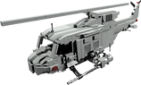 Huey gunship with rockets