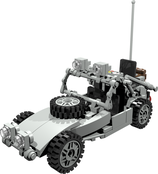 Special forces dune buggy with radio