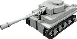 Mini scale Tiger tank