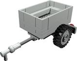 Trailer open can be used a a boot Anhänger auch als boot einsetzbar