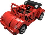 Käfer Cabrio Beetle cabrio rot red