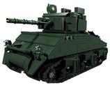 Sherman battle tank