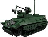Marder Schützenpanzer mit Milan Rakete grün