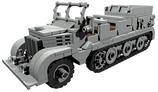 SdKfz 9 18t schwere Zugmaschiene