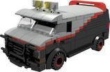 A-Team Van black/grey