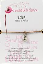 Bracelet de la chance - Coeur