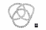 Bracelet cristal de roche - élastique - 1 pièce