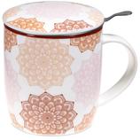 Mug Mandala SET thé rose