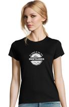 T-shirt Dame Au sommet de mes rêves
