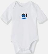 Body bébé BIO Cully Jazz Bleu BB
