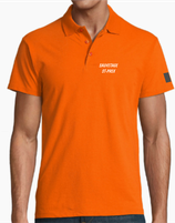 11346 polo orange Sauvetage de St-Prex